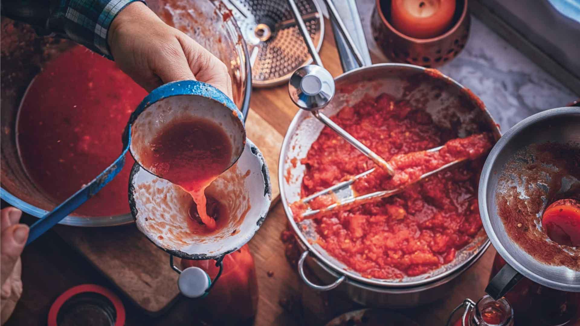 Passata di pomodo cosa scegliere - Tomato puree what to choose